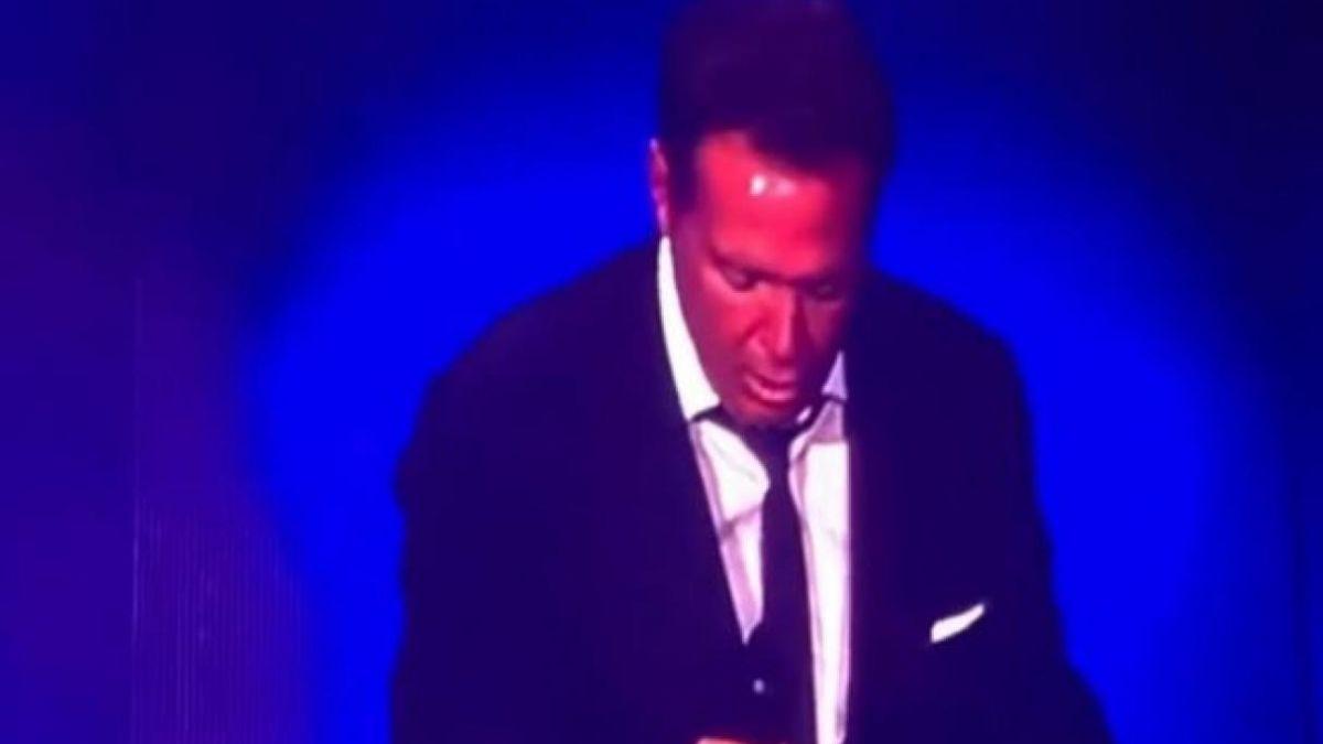 Los VIDEOS de Luis Miguel berreando en el Auditorio Nacional