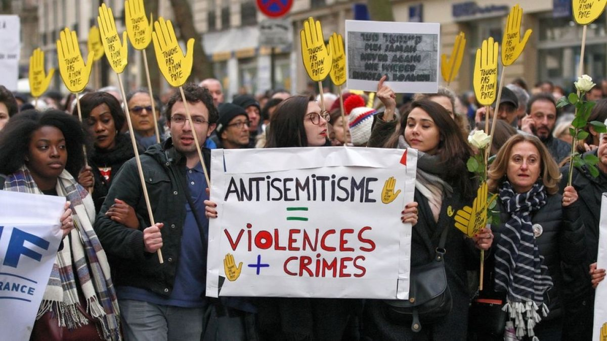 Los números que muestran el aumento del antisemitismo en Europa