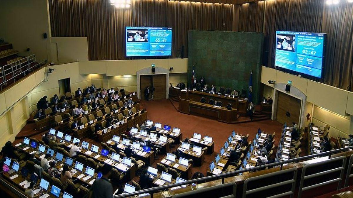Cámara de Diputados reajuste sector público