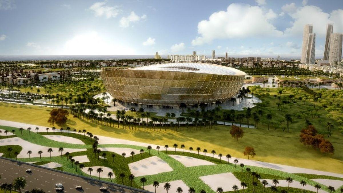 Qatar reveló el diseño del estadio que albergará la final del Mundial 2022