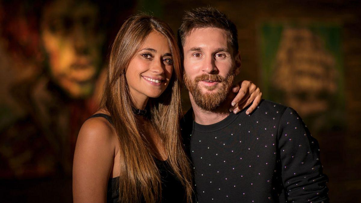 Messi se desubicó y sufrió la furia de Antonela: