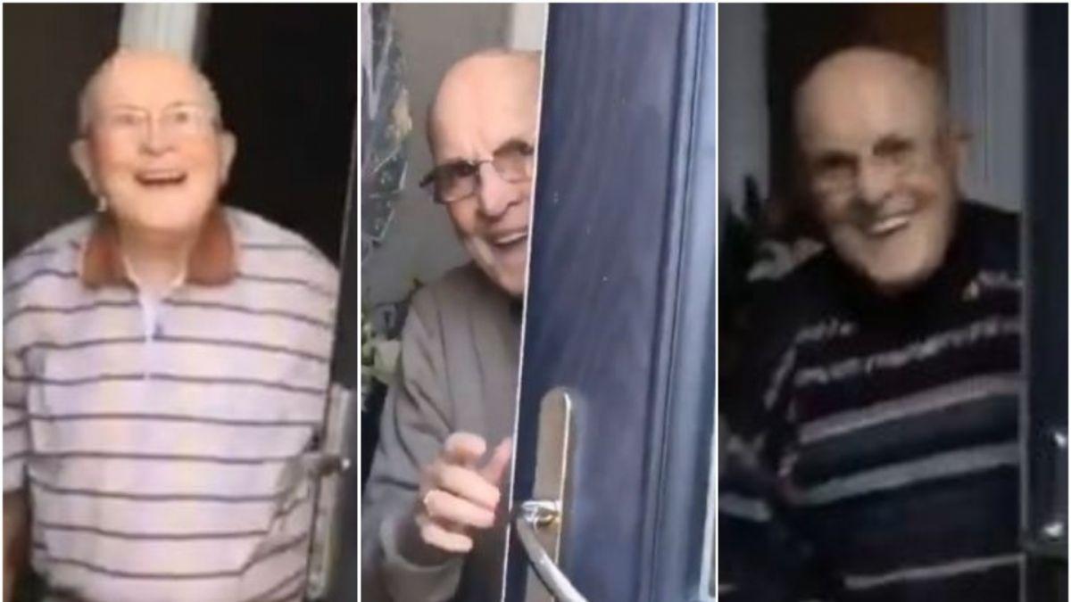 [VIDEO] Escocesa grabó a su abuelo cada vez que lo fue a visitar y el resultado es maravilloso