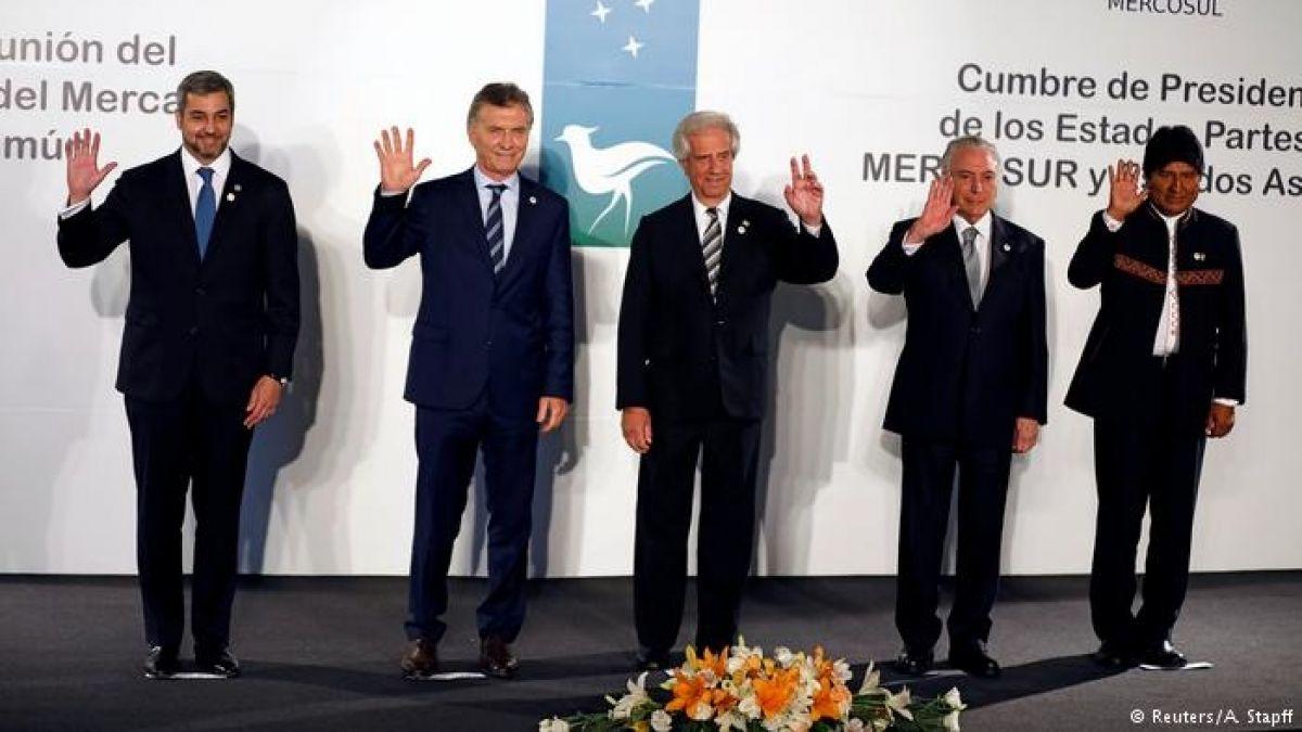 Mercosur buscará abrirse al mundo con acuerdos con la UE y la Alianza del Pacífico