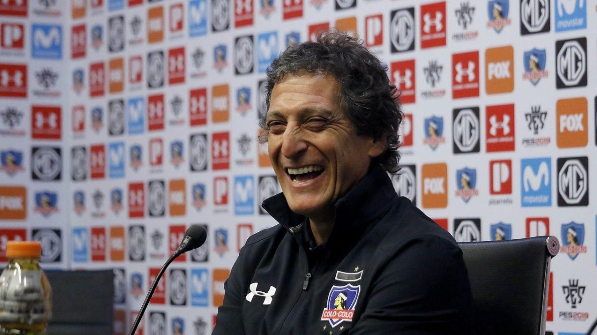 Mario Salas dirigirá al Colo Colo — Fútbol chileno