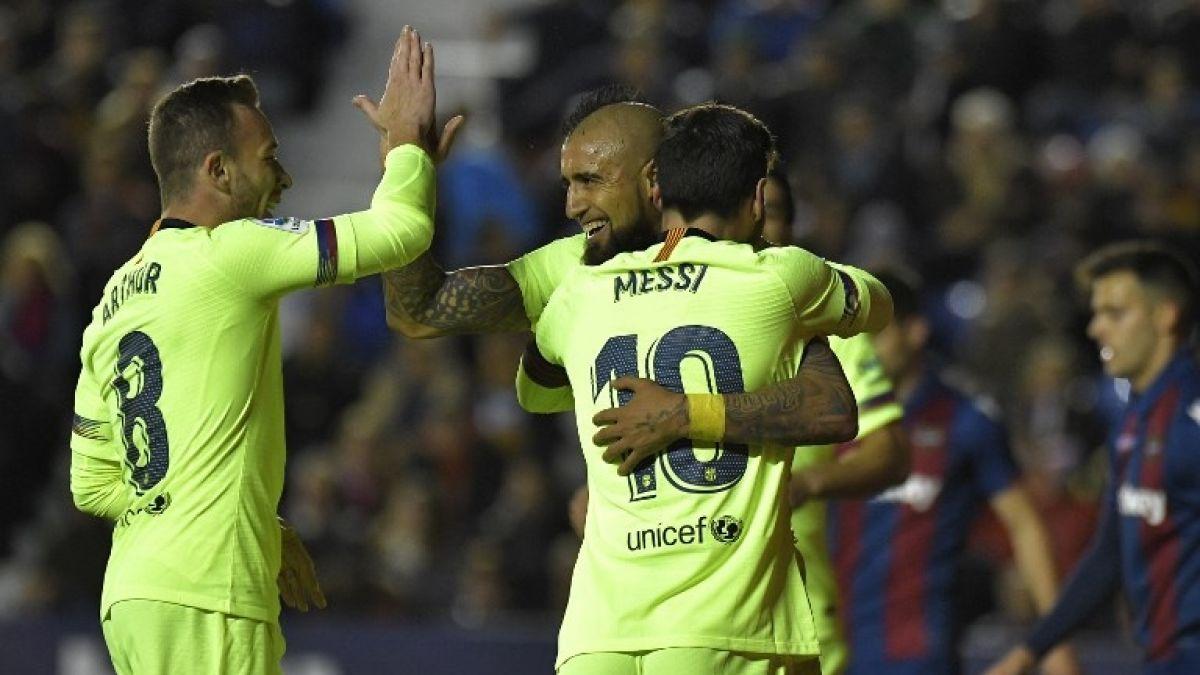 Barcelona vs Celta de Vigo: Horario y dónde ver el cierre de año de Arturo Vidal