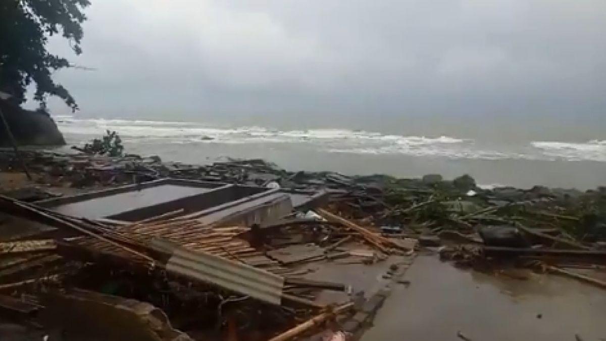 [VIDEO] Tsunami en Indonesia: Cifra de fallecidos se eleva a 281 tras intensa jornada de rescate