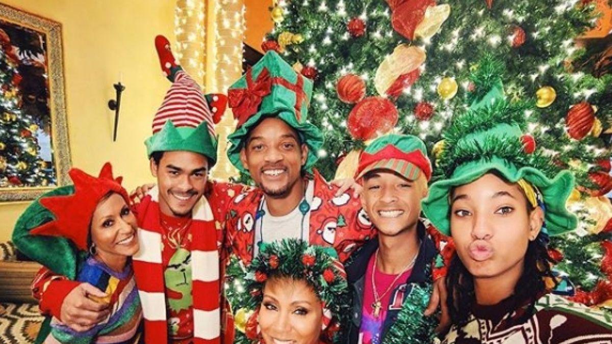 Así se prepara Will Smith para la Navidad | FOTOS — Instagram