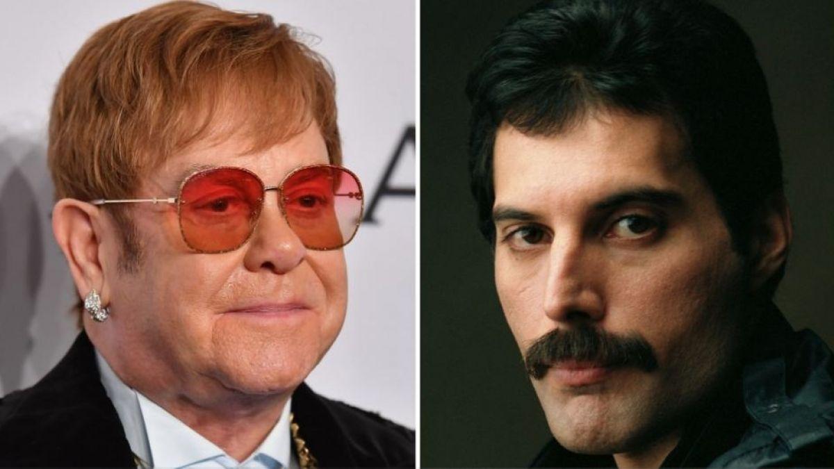 El último regalo de Freddie Mercury a Elton Jhon