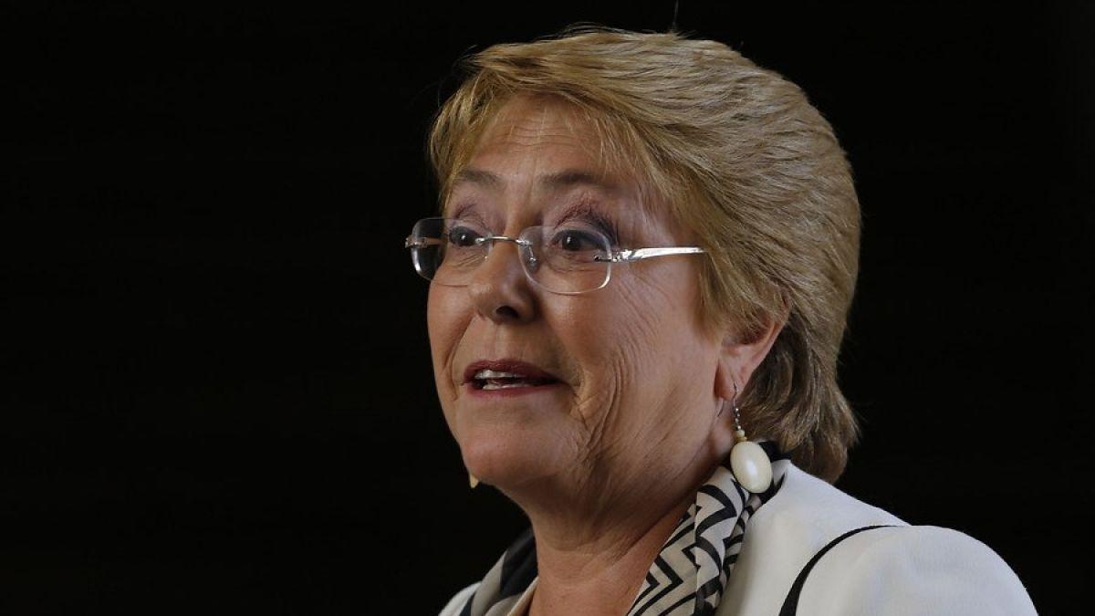 Michelle Bachelet envía saludo de fin de año enfatizando la defensa de los Derechos Humanos
