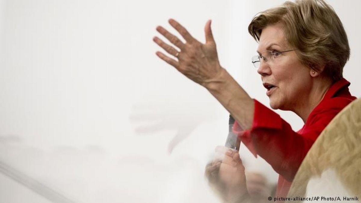 la senadora Elizabeth Warren busca una posible candidatura presidencial