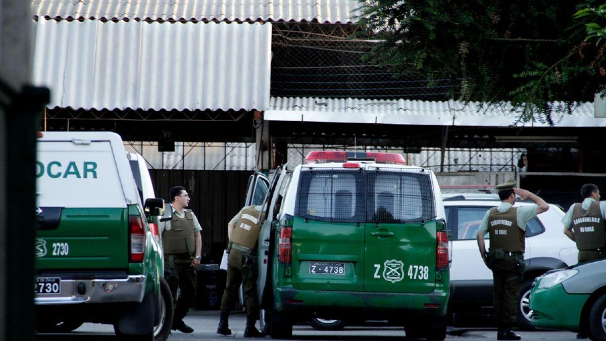 Detienen a prófugo por muerte de joven en Pudahuel