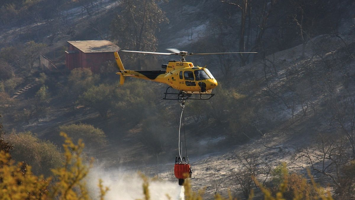 Incendios forestales: Cinco focos se mantienen activos en tres regiones del país