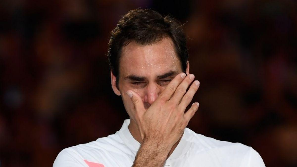 Las lágrimas de Federer al recordar a un entrenador fallecido
