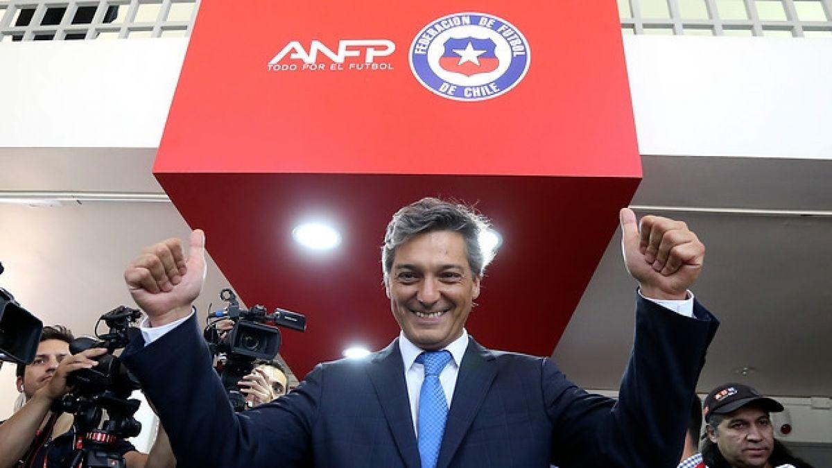 Sebastián Moreno asumió como nuevo presidente de la ANFP