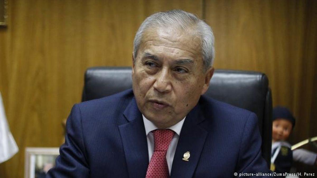 Fiscal general de Perú anuncia que presentará su renuncia