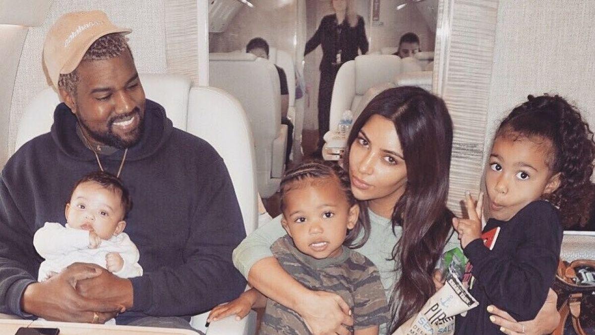 Resultado de imagen para kim kardashian con hijos