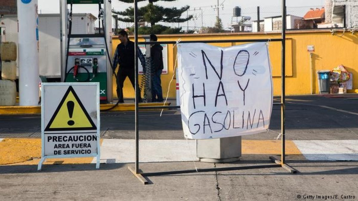 México: empeoran problemas de abastecimiento de gasolina
