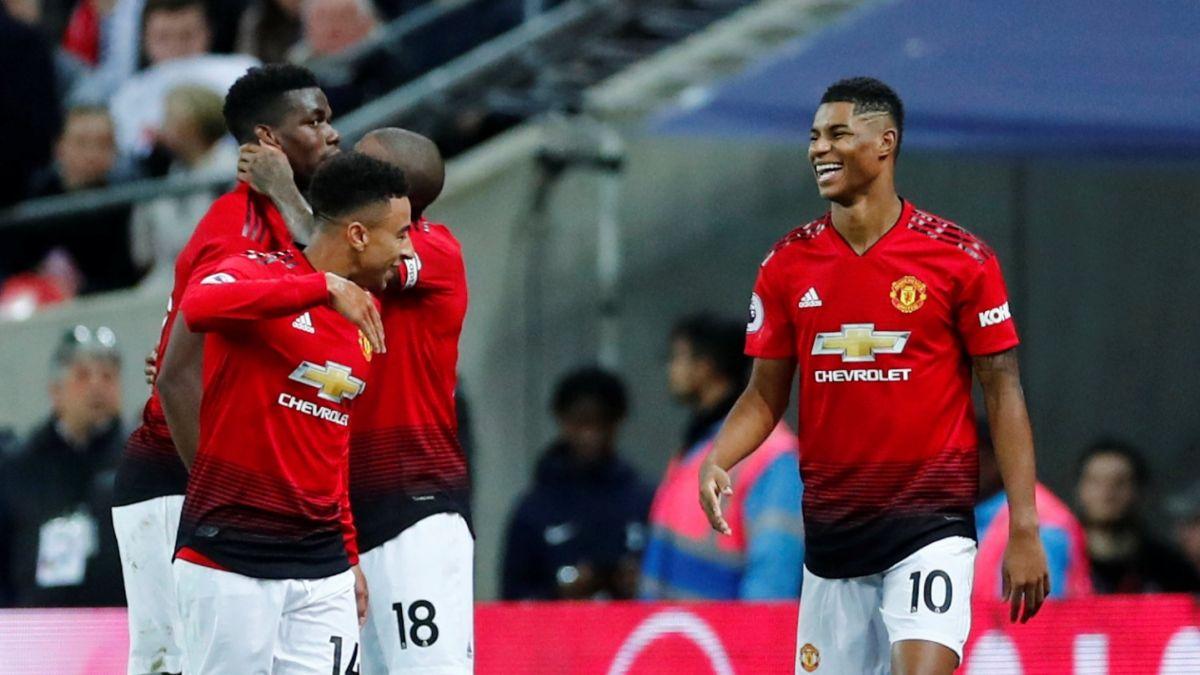 Manchester United vence al Tottenham sin la presencia de Alexis Sánchez