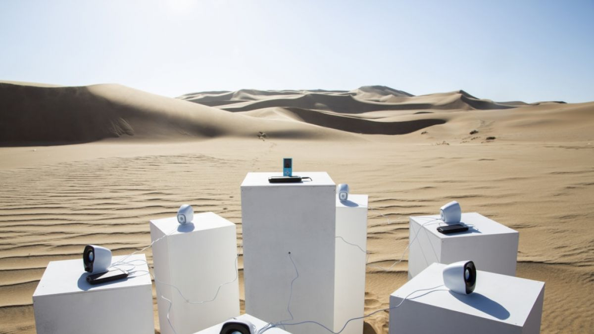 Africa de Toto sonará para siempre en un desierto africano