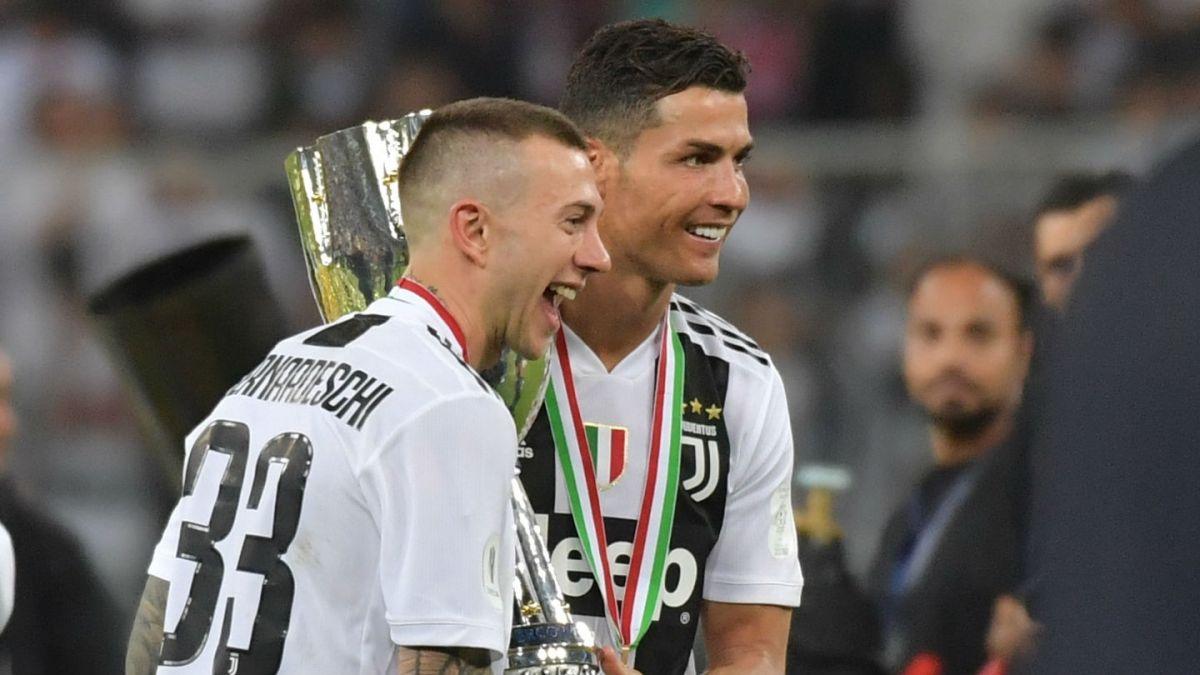 Cristiano Ronaldo le da a Juventus la Supercopa italiana