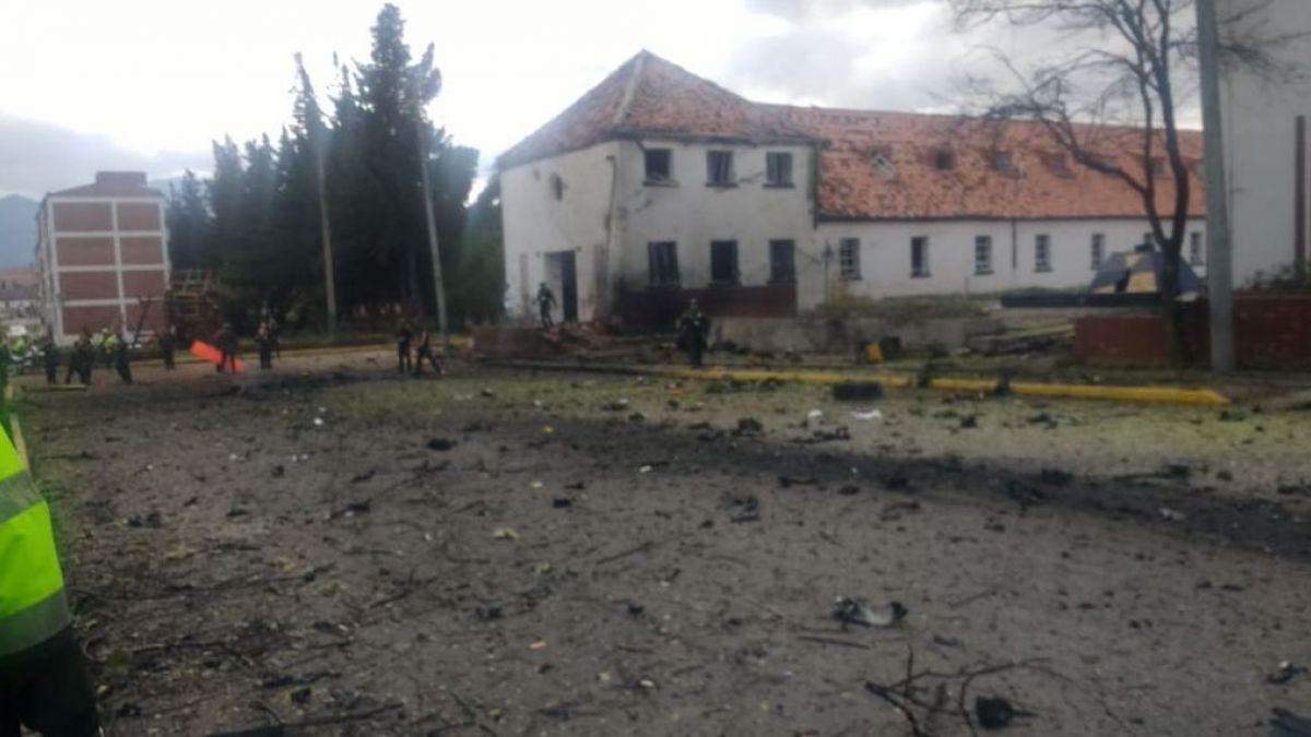 Bogotá: Explosión en escuela de policías deja al menos 8 muertos