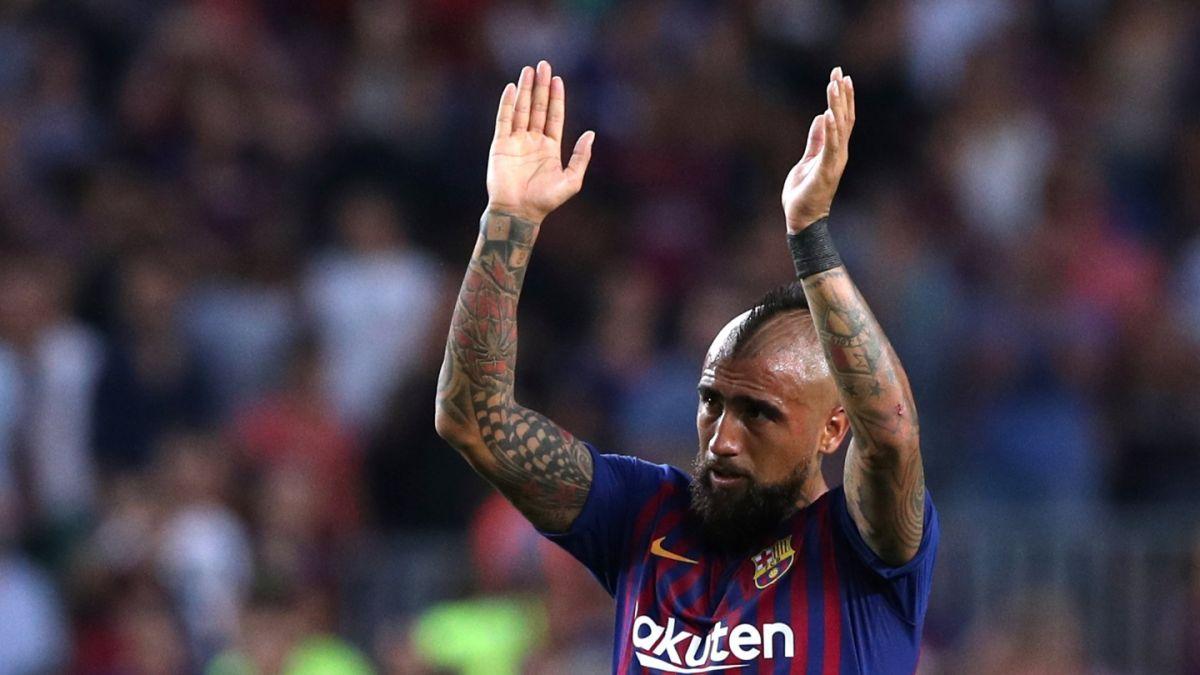 La formación del Barcelona para enfrentar al Leganés