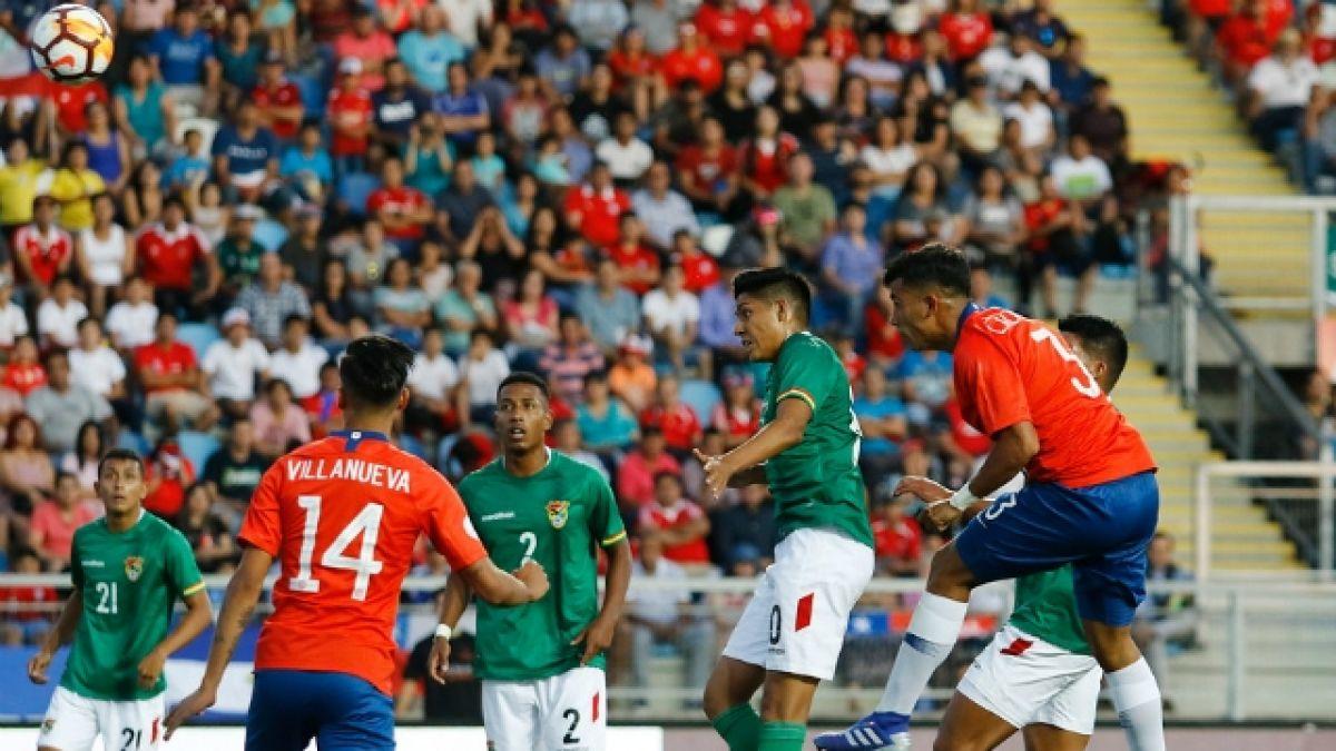[VIDEO] La Roja iguala ante Bolivia en su debut en el Sudamericano Sub 20