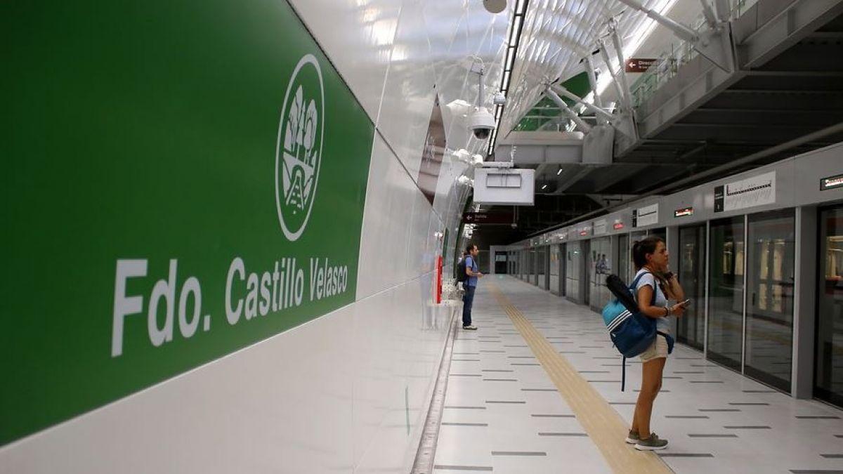 Línea 3: El inesperado regalo de Metro a los primeros pasajeros de este miércoles