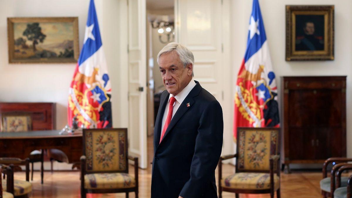 [VIDEO] Presidente Piñera respalda a Juan Guaidó como presidente encargado de Venezuela