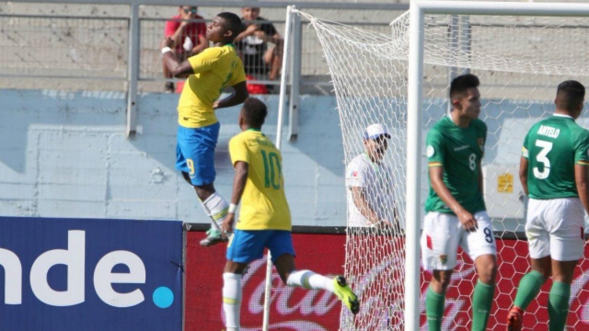[VIDEO] Brasil vence a Bolivia y saca pasajes a la fase final del Sudamericano Sub 20