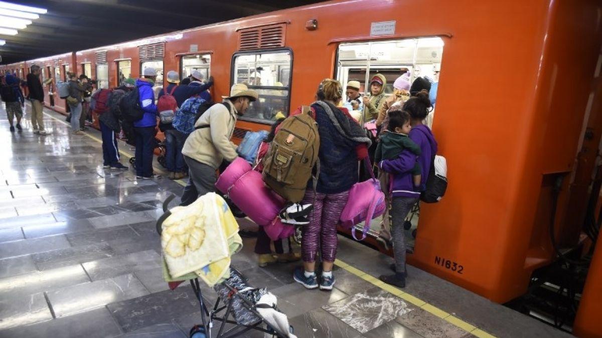 El peligro de viajar en metro en Ciudad de México