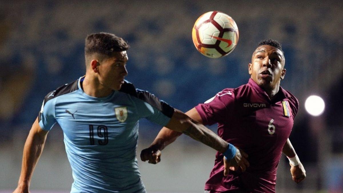 Sudamericano Sub-20: Uruguay y Venezuela empatan en intenso duelo en la primera fecha del hexagonal