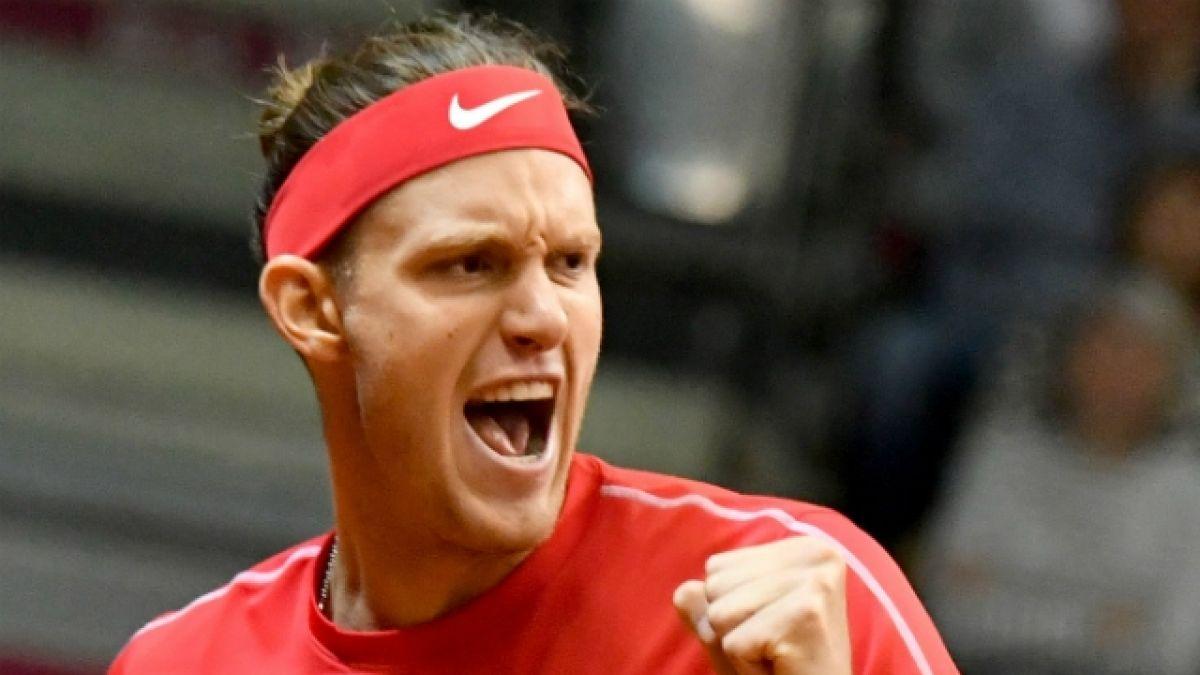 [VIDEO] Nicolás Jarry vence a Jurij Rodionov y le da a Chile el primer punto en Copa Davis