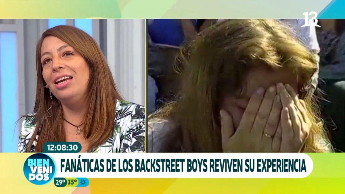 [VIDEO] ¿Las recuerdas?: Así están las fans de Backstreet Boys que lloraron de histeria en Viña 98