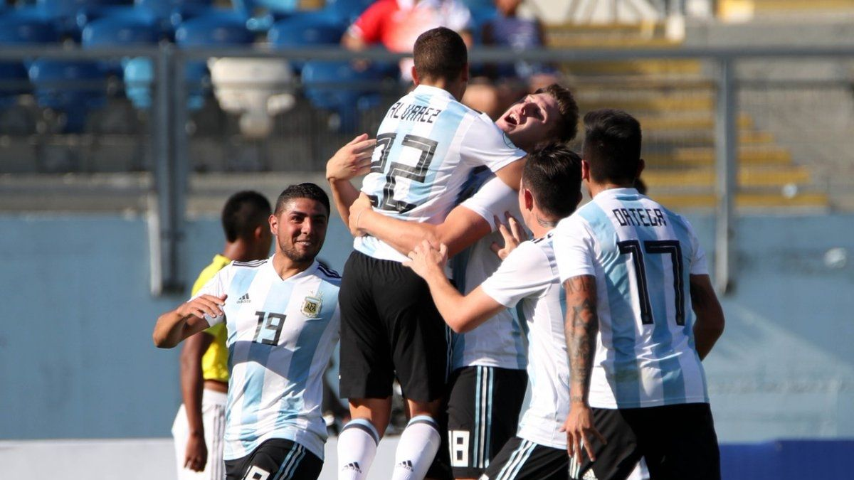 [VIDEO] Argentina vence a Colombia y sigue luchando en el Sudamericano Sub 20
