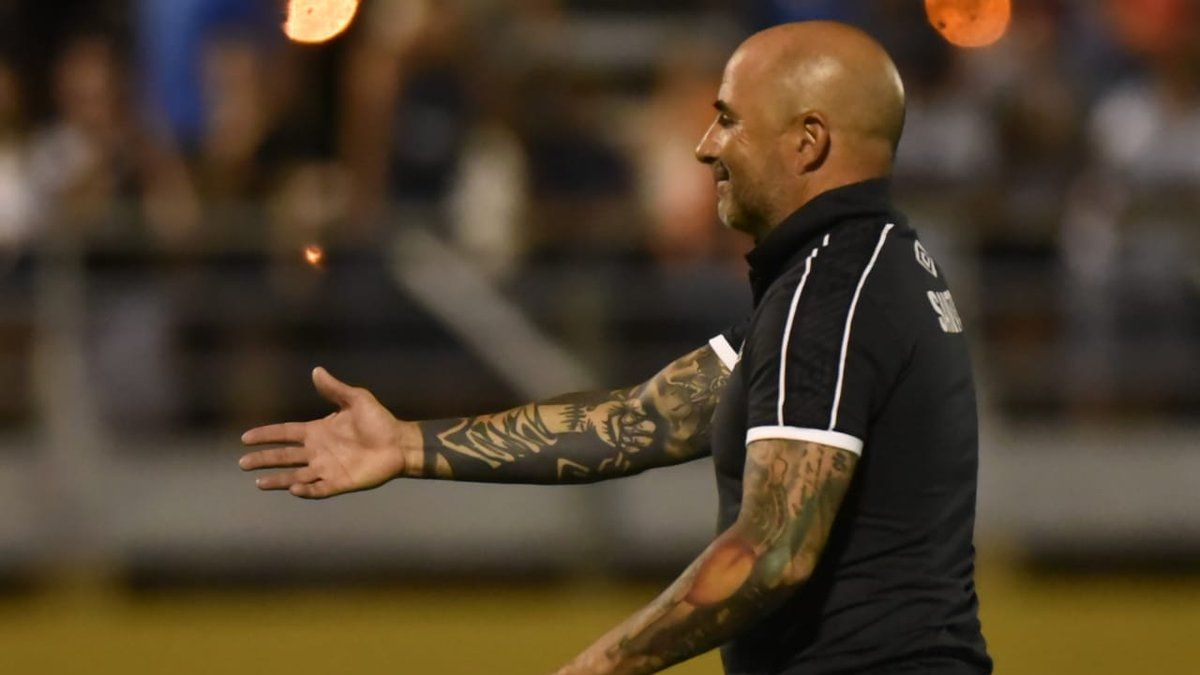 Jorge Sampaoli y la dura derrota de Santos:
