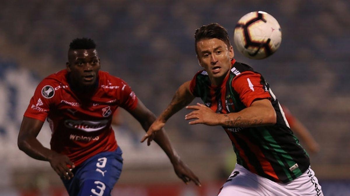 Palestino empata ante Independiente de Medellín en su debut en la Libertadores
