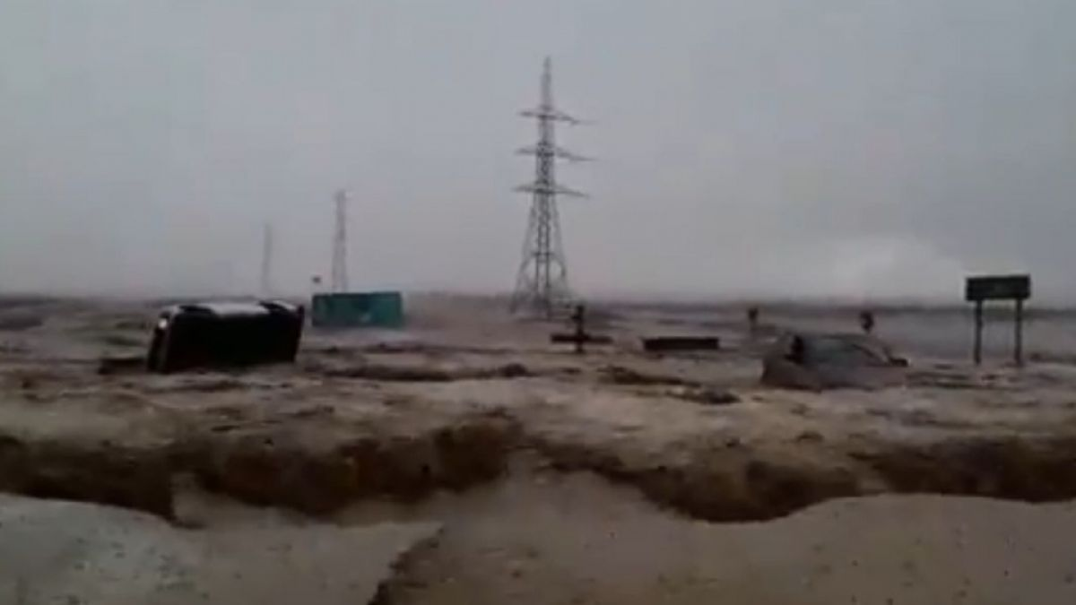 [VIDEOS] Registros muestran las graves consecuencias que las lluvias han dejado en Calama