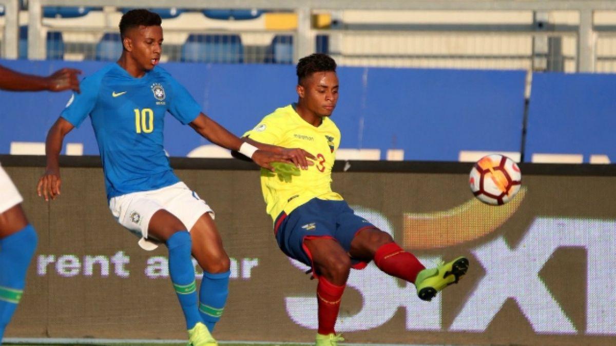 [VIDEO] Brasil iguala ante Ecuador y queda al borde de la eliminación en el Sudamericano Sub 20