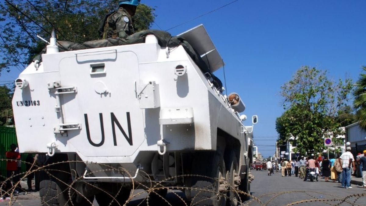 Cuatro muertos en accidente de un vehículo blindado de la ONU en Haití