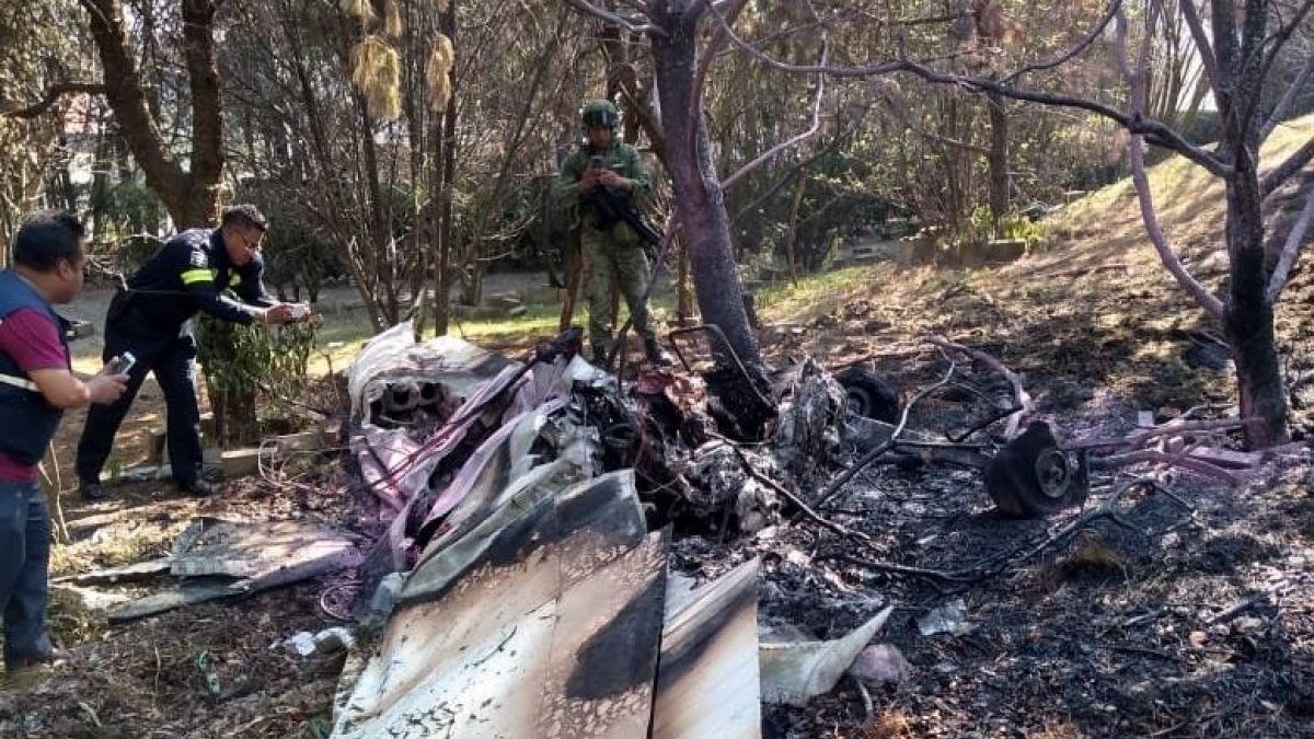 Caída de avioneta deja al menos dos muertos en México
