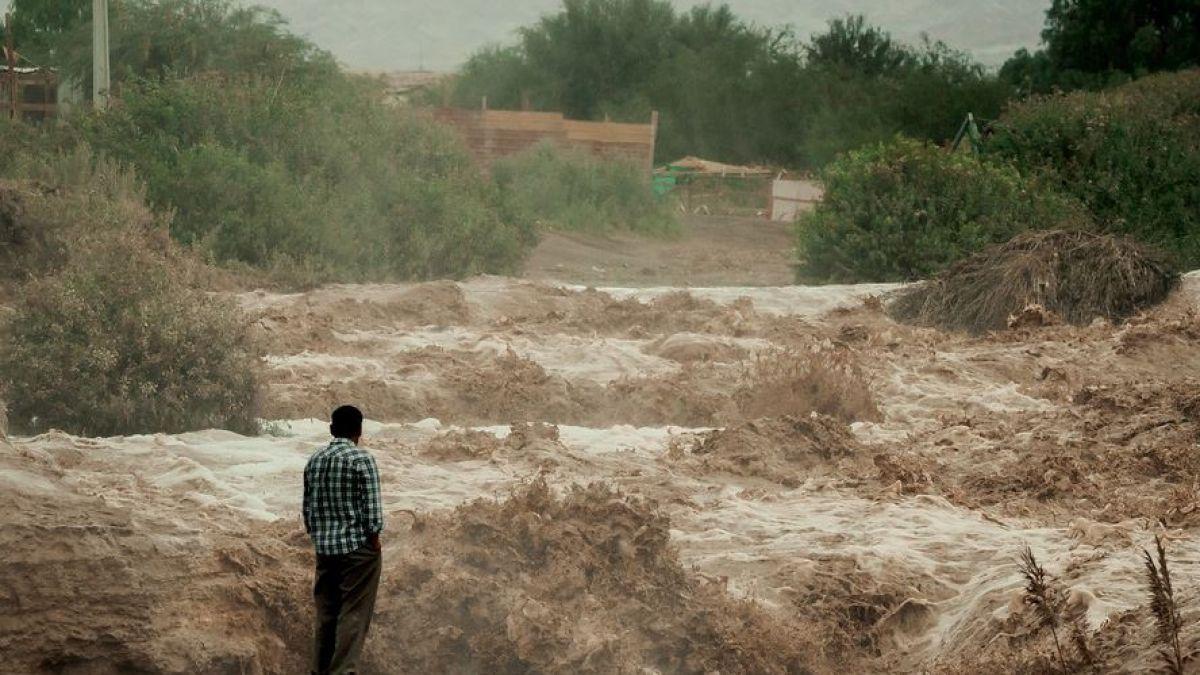 Jefe de zona en provincia del Loa: Se mantiene alerta roja por tormentas eléctricas