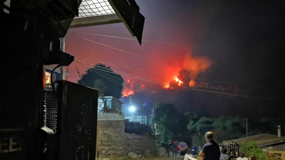 Alcalde de Penco: Información preliminar apunta a la intencionalidad del incendio