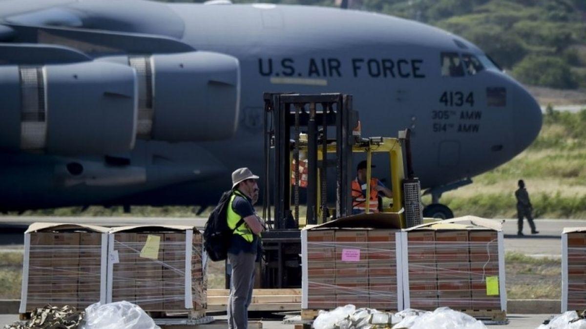 Marco Rubio llegó a la frontera colombo- venezolana