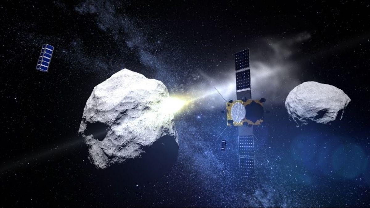 La NASA desviará un asteroide que podría impactar en la Tierra — Histórico