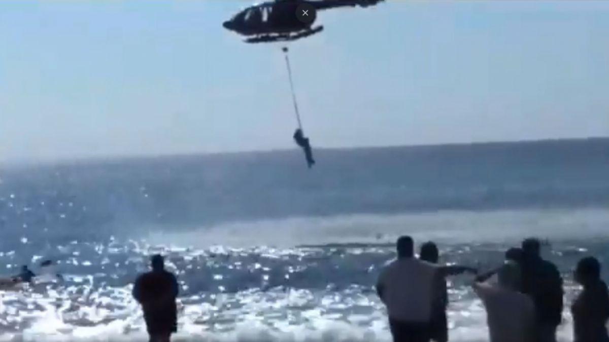 Dos personas fallecieron por inmersión en playa no apta para el baño