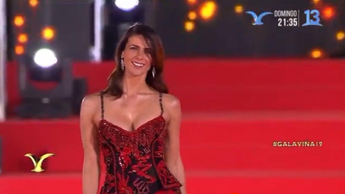 Gala Vina 2019 Tonka Tomicic Deslumbra Con Espectacular Vestido