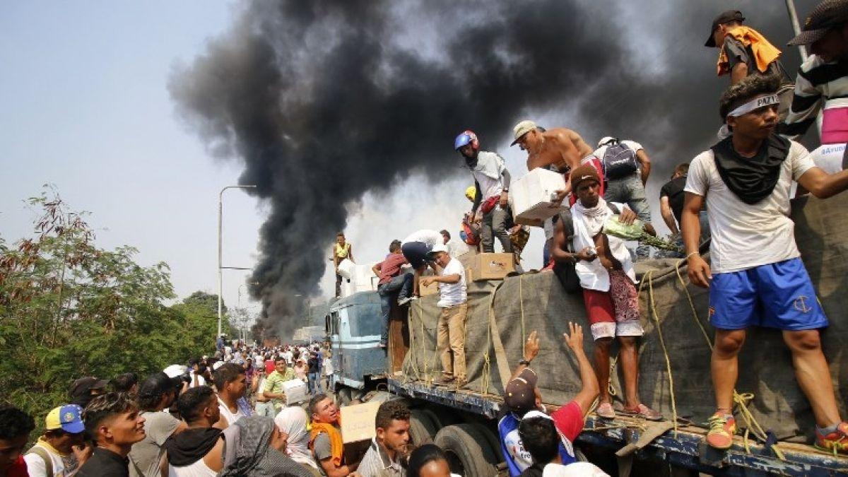 Almagro acusa de 'salvaje' a Maduro por bloquear ayuda humanitaria