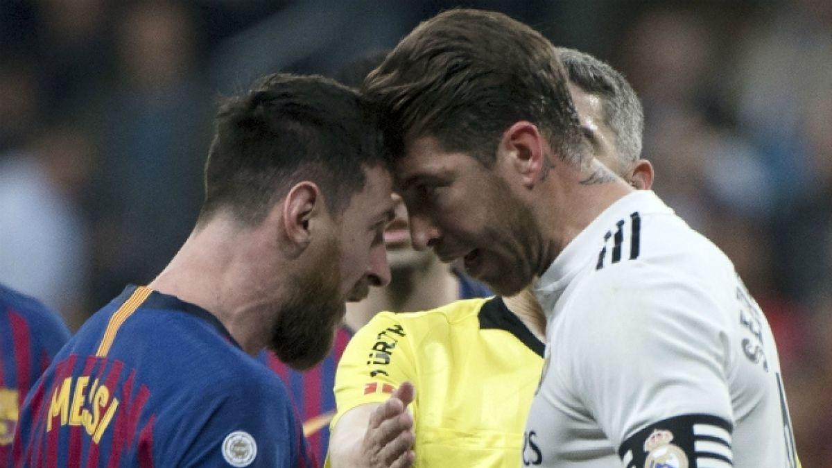 Messi en Ramos lo Sergio Todo que dijo  a el último le