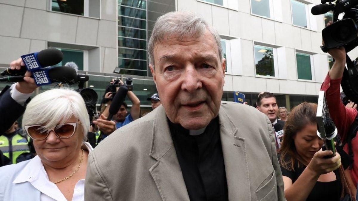 Condenaron por abuso sexual a George Pell, exmano derecha del Papa Francisco